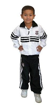 Agasalho Corinthians Microfibra Infantil Oficial