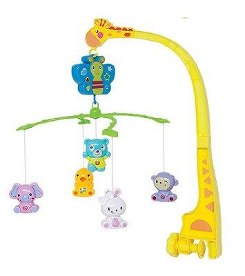 Móbile Infantil Musical Animais Buba