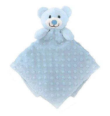 Naninha Bebê Algodão Doce Azul Buba