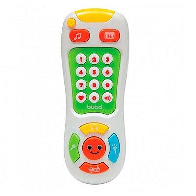 Controle Remoto Baby Musical Branco Buba Toys