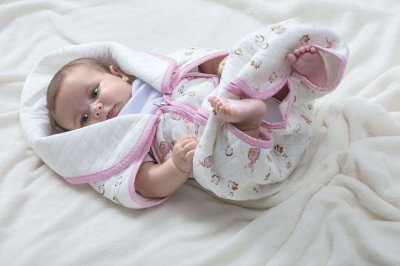Baby Sac Rosa Algodão Jolitex 80cm x 90cm