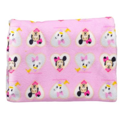 Manta Minnie e Margarida Soft 0,90x1,10m Jolitex