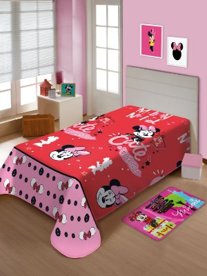 Manta Soft Infantil Disney Minnie Mouse Jolitex