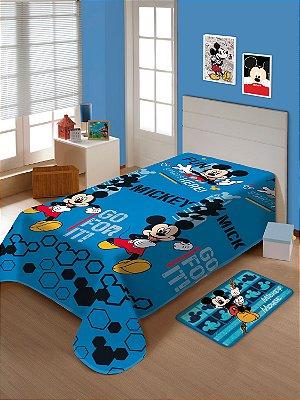 Manta Soft Infantil Disney Mickey Mouse Jolitex