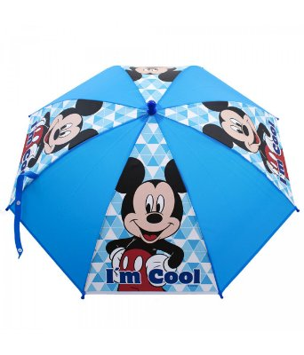 Guarda Chuva Infantil Azul Mickey - Disney