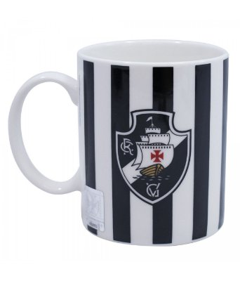 Caneca Porcelana Vasco 320ml Oficial
