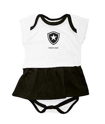 Body Bebê Vestido Botafogo - Torcida Baby