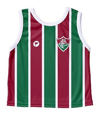 Camiseta Fluminense Bebê Regata- Torcida Baby
