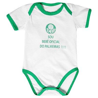 """Body Palmeiras """"Bebê Oficial"""" Revedor"""
