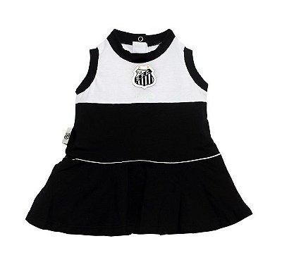 Vestido Santos Bebê Infantil Regata Revedor