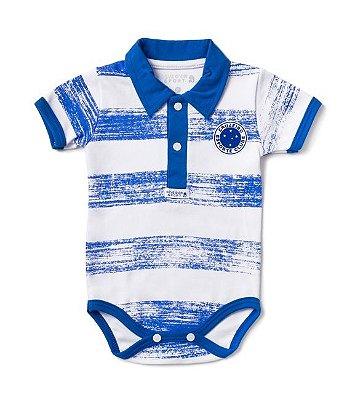 Body Cruzeiro Pólo Manga Curta Listras Revedor