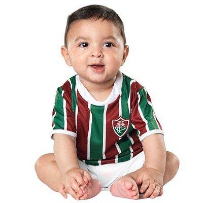 Camiseta Bebê Fluminense Listrada - Torcida Baby