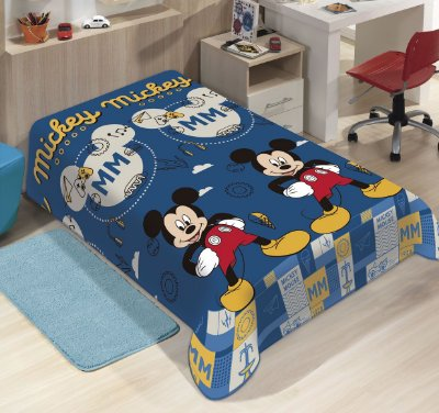 Manta Disney Mickey Soft Jolitex 1,50 x 2,00m