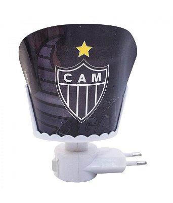 Mini Luminária Brasão Atlético Mineiro