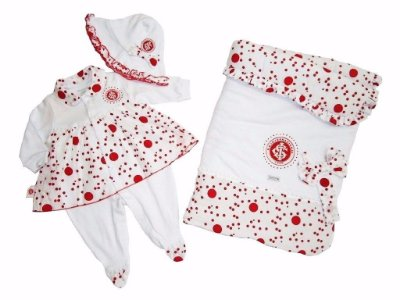 Kit Maternidade Internacional Luxo Meninas Revedor