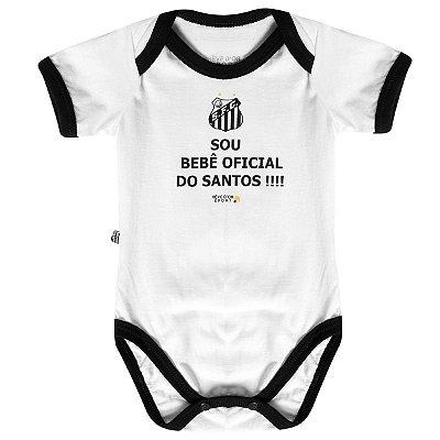 """Body Santos """"Bebê Oficial"""" Revedor"""