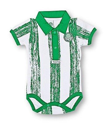 Body Bebê Palmeiras Listras Oficial