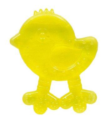 Mordedor Bebê Passarinho Amarelo - Buba