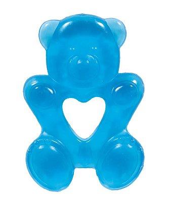 Mordedor Bebê Ursinho Azul - Buba