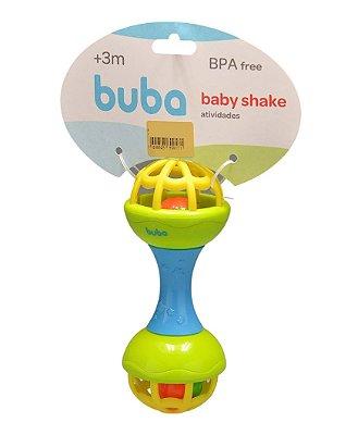 Chocalho Baby Shake Atividades - Buba