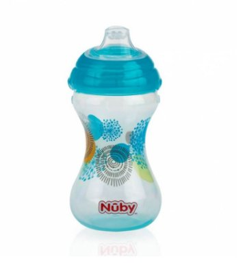 Copo Decorado Acqua com Bico de Silicone 300ml - Nuby