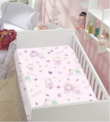 Cobertor Flannel Kyor My Princess 0,90 x 1,10m Jolitex