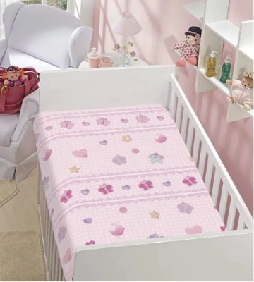 Cobertor Flannel Kyor Mimos 0,90 x 1,10m Jolitex