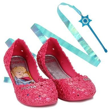 Sapatilha Infantil Frozen Let It Rosa Grendene