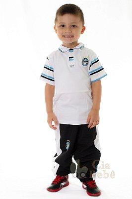 Conjunto Infantil Social Casaco Camisa e Calça Jeans - Cia Bebê ... e4f41e5afc6