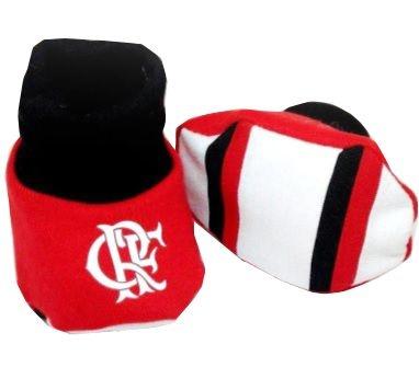Meia Pantufa Bebê Flamengo Oficial