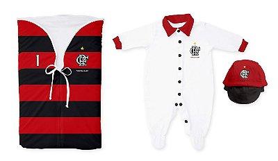 Kit Saída de Maternidade Flamengo Torcida Baby