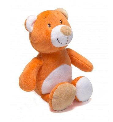 Pelúcia Bebê Com Chocalho Urso Unik