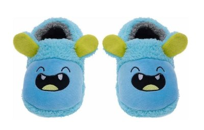 Pantufa Play Infantil Monstrinho Azul - Pimpolho