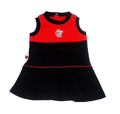 Vestido Bebê Regata Flamengo Revedor