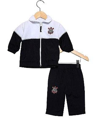 Agasalho Bebê Corinthians Unissex Oficial