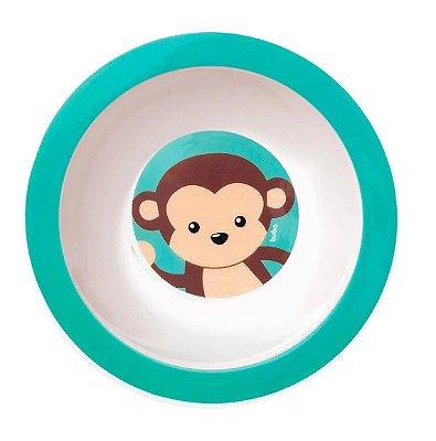 Pratinho Bowl  Infantil Animal Fun Macaco Buba