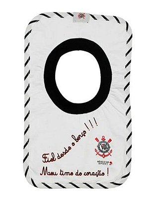 Babador Bebê Corinthians Frase Oficial