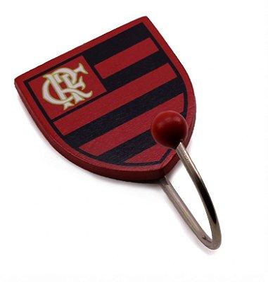 Gancho De Metal Com Brasão Flamengo