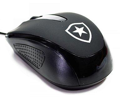 Mouse Óptico Com Fio Botafogo Oficial