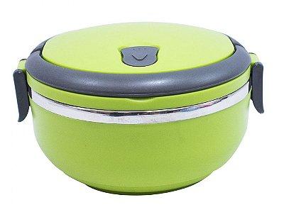 Porta Alimento Térmica Hermética Verde Inox 700ml