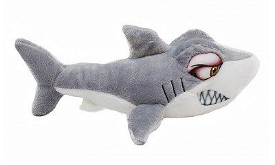Pelúcia Tubarão Bravo 35 cm