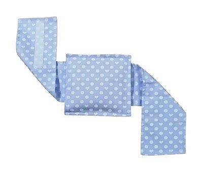 Bolsa Térmica Bebê Sem Cólica Com Cinta Coração Azul