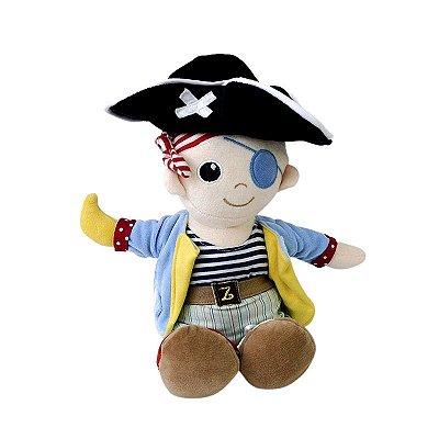 Boneco de Pelúcia Pirata Zip