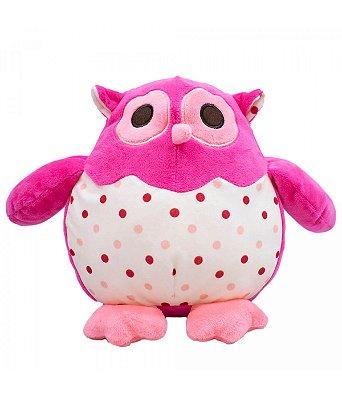 Pelúcia Corujinha Pink 22cm