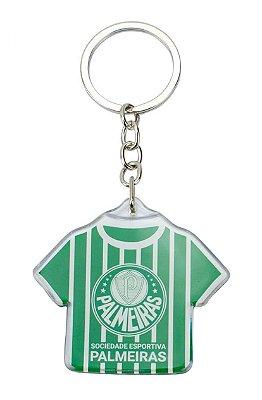 Chaveiro de Metal Camisa Futebol 5cm Palmeiras Oficial