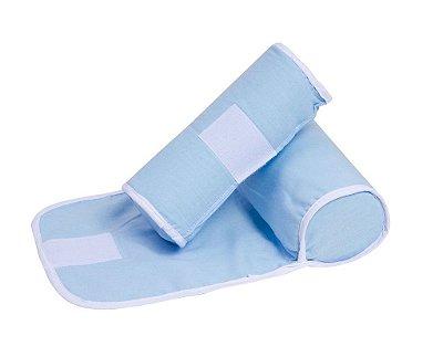 Segura Bebê Azul Liso 35cm X 22cm - Papi