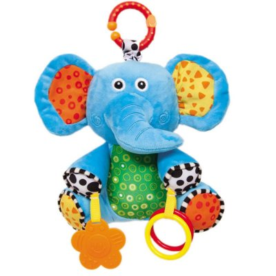 Elefantinho Atividades Pelúcia Buba