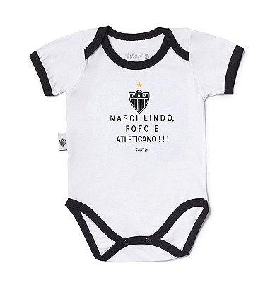 "Body Atlético MG ""Nasci Torcedor"" Revedor"