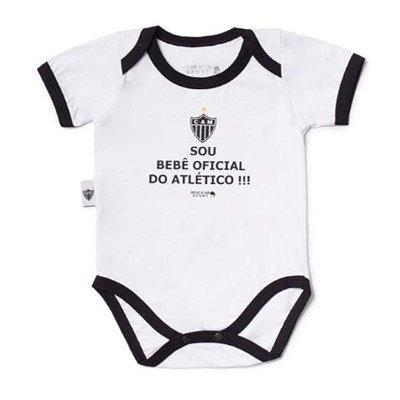 """Body Atlético MG """"Bebê Oficial"""" Revedor"""