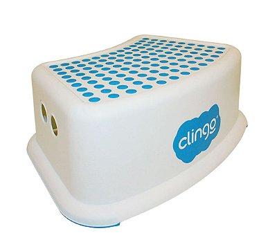 Degrau Infantil Step Dots Azul Clingo